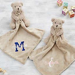 Playful Name Teddy Bear Baby Lovey