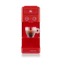 illy® Y3.3 Espresso & Coffee Machine in Red