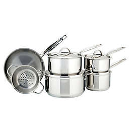 Meyer Confederation Stainless Steel 10-Piece Cookware Set