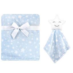 Hudson Baby® Star Plush Security Blanket Set