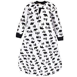 Hudson Baby® Size 12-18M Bear Quilted Long Sleeve Wearable Blanket in Black