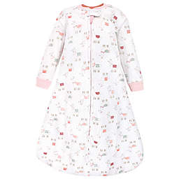 Hudson Baby® Llama Quilted Long Sleeve Wearable Blanket in Pink