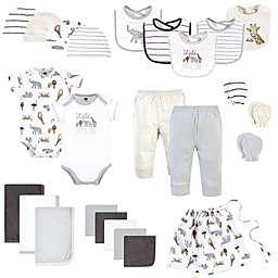 Hudson Baby® Size 0-6M 25-Piece Safari Layette Baby Gift Set in Neutral