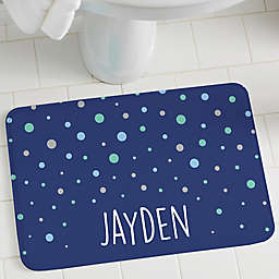 Bubbles Personalization Foam Bath Mat