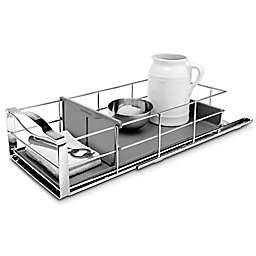 simplehuman® 9-Inch Pull-Out Cabinet Organizer in Grey