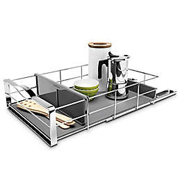 simplehuman® 14-Inch Pull-Out Cabinet Organizer in Grey