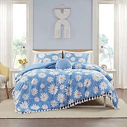 Intelligent Design Jane Duvet Cover Set in Blue