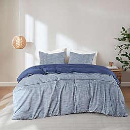 Clean Spaces Dover Organic Cotton Oversized Duvet Cover Set