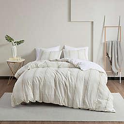 Clean Spaces Hollis Organic Cotton Duvet Cover Set