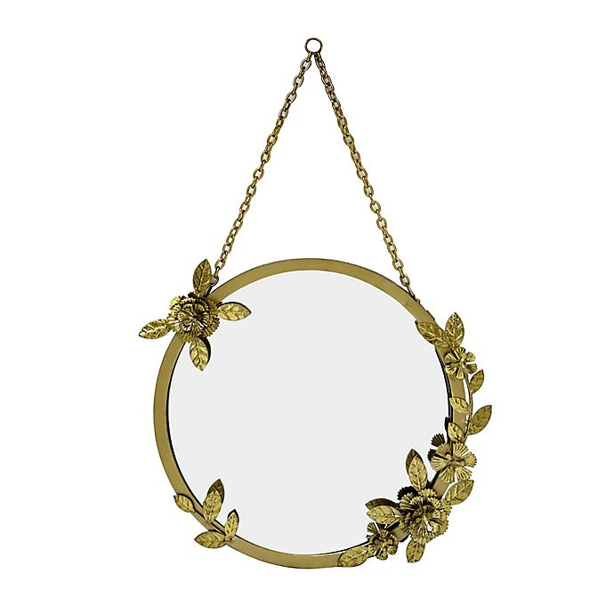 Alternate image 1 for Wild Sage™ 20-Inch Mirror in Gold