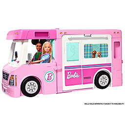 Mattel Barbie® 51-Piece 3-in-1 DreamCamper Vehicle and Accessory Set