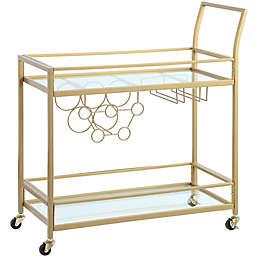 FirsTime® Francesca Bar Cart in Gold