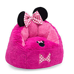 Delta Children Disney® Minnie Mouse Cozee Figural Toddler Chair in Pink