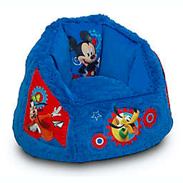 Delta Children Disney® Mickey Mouse Cozee Fluffy Toddler Chair in Blue/Red