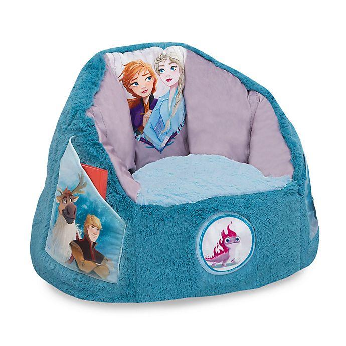 Alternate image 1 for Delta Children Disney® Frozen Cozee Fluffy Toddler Chair in Blue
