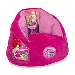 Delta Children Disney® Princess Cozee Fluffy Toddler Chair in Pink
