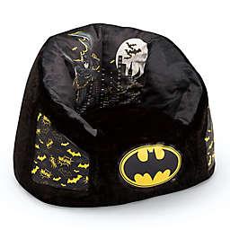 Delta Children® Batman Cozee Fluffy Kids Chair in Black