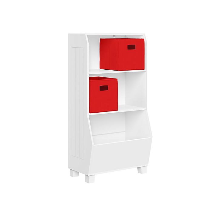 Alternate image 1 for RiverRidge Home® 23-Inch Kids Bookcase and Toy Organizer in White