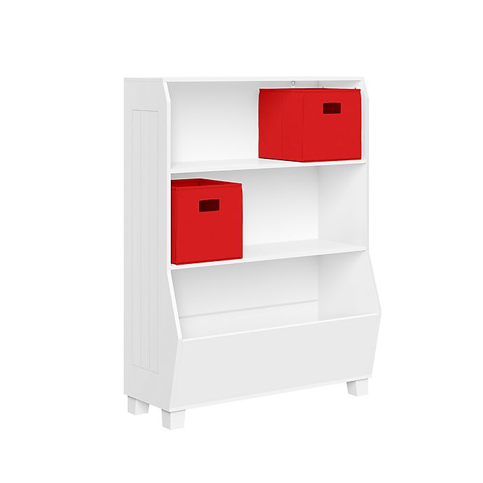 Alternate image 1 for RiverRidge Home® Kids 34-Inch Bookcase and Toy Organizer in White