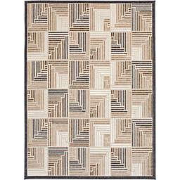 Truros 6'7 x 9'2 Indoor/Outdoor Multicolor Area Rug