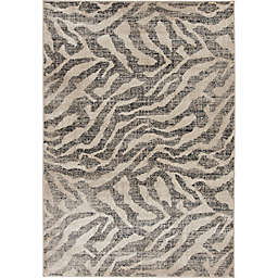 Maisel 7'10 x 9'10 Area Rug in Ivory/Grey