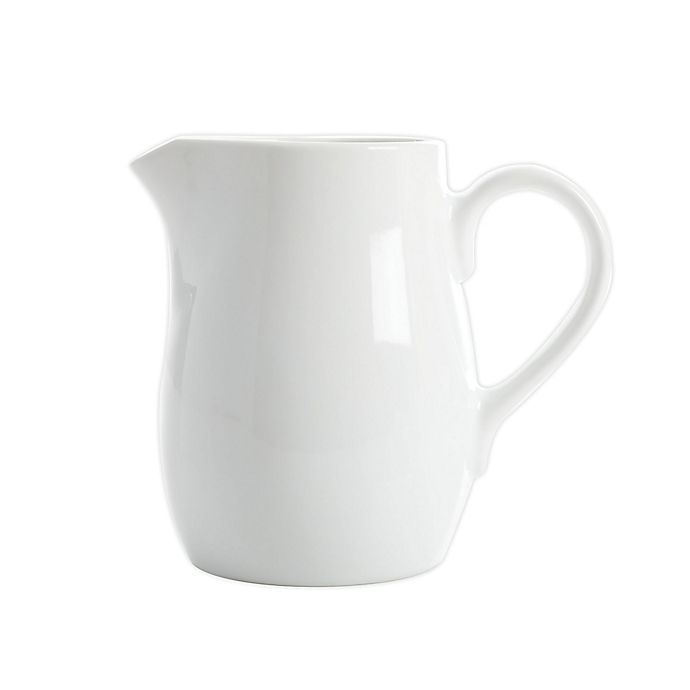 Alternate image 1 for Our Table™ Simply White Porcelain Creamer