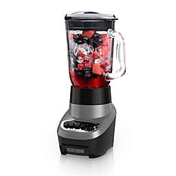 Black & Decker™ Power Crush 6-Cup Blender in Silver with Glass Jar