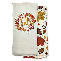 Happy Fall Y'all Kitchen Towels (Set of 2)