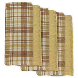 Harvest Plaid Kitchen Towels (Set of 6)