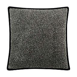 UGG® Melange Classic Sherpa Square Throw Pillows in Off Black Melange (Set of 2)