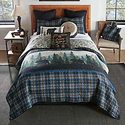 Donna Sharp® Bear Journey 3-Piece Reversible King Quilt Set in Blue