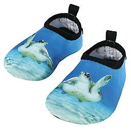 Hudson Baby® Turtle Water Shoes in Blue