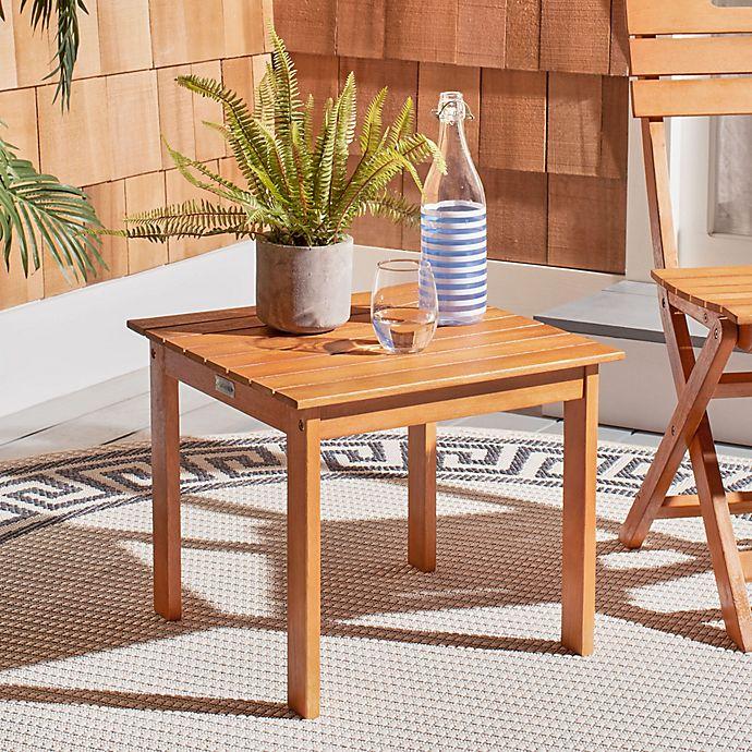 Alternate image 1 for Safavieh Randor Patio Folding Table in Natural