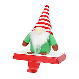 H for Happy™ Gnome Christmas Stocking Hanger with Base in Red