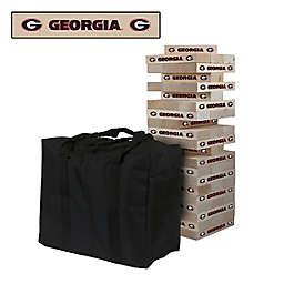 University of Georgia Giant Wooden Tumble Tower Game