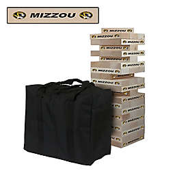 University of Missouri Giant Wooden Tumble Tower Game