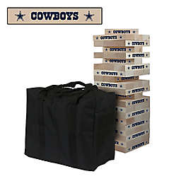NFL Dallas Cowboys Giant Wooden Tumble Tower Game