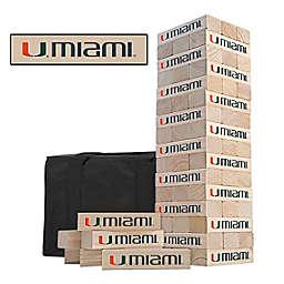 NCAA Miami Hurricanes Gameday Tumble Tower