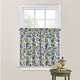 Waverly® Imperial Dress 36-Inch Rod Pocket Window Curtain Tier Pair in Tan (Set of 2)