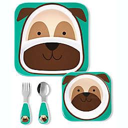 SKIP*HOP® Pug Zoo Mealtime Gift Set