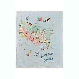 Loulou Lollipop® USA Muslin Quilt in White