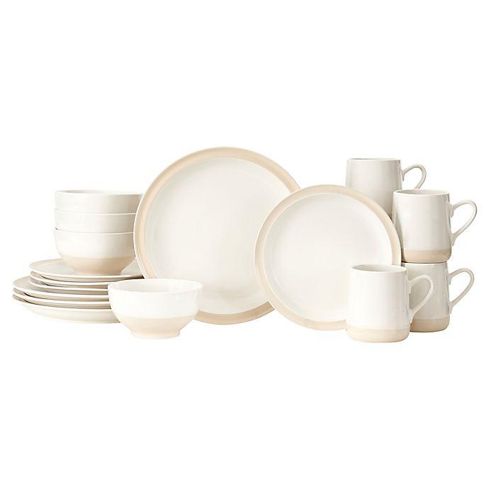 Alternate image 1 for Baum Grayden 16-Piece Dinnerware Set in White
