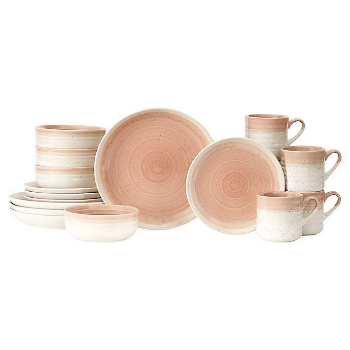 Alternate image 1 for Baum Hearth 16-Piece Dinnerware Set in Blush