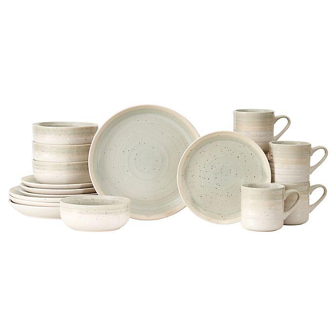 Alternate image 1 for Baum Hearth 16-Piece Dinnerware Set