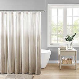 Madison Park Ara Ombre Printed Seersucker Shower Curtain