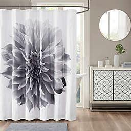 Madison Park Norah 200TC Cotton Percale Shower Curtain
