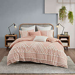 INK+IVY Marta 3-Piece Full/Qeen Duvet Cover Set in Natural