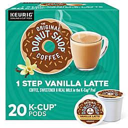 The Original Donut Shop® Vanilla Latte Coffee Keurig® K-Cup® Pods 20-Count