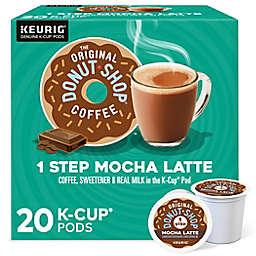 The Original Donut Shop® Mocha Latte Coffee Keurig® K-Cup® Pods 20-Count