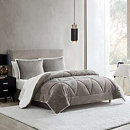 UGG® Avery 3-Piece Reversible Full/Queen Comforter Set in Storm Grey